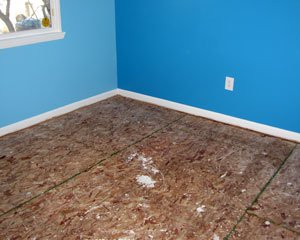 How to fix squeaky floors repairing floor squeaks fixing for How to fix squeaky hardwood floors from above