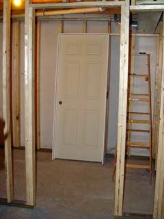 Wondering how to frame a door? Learn how to rough-in a door opening for a prehung door. This section will provide details of the right way to frame a ... & Wondering how to frame a door? Learn how to rough-in a door ... pezcame.com
