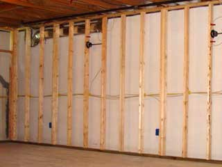 Wondering how to frame a wall this section will provide basic framing tips to help you as you for Framing interior basement walls