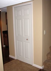 If the room is too small you may need to add a vent in a for Basement closet ideas