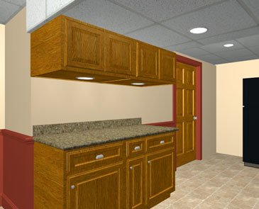Great basement design tips to help you plan your basement - Better homes and gardens kitchen design software ...