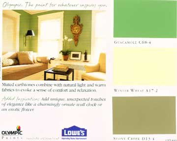 Color Palette Paint
