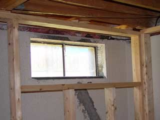 When you frame around a basement window decide how you will enclose the area. : framing ductwork in basement  - Aeropaca.Org