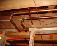 Working Around Plumbing Gas Lines And Other Obstacles