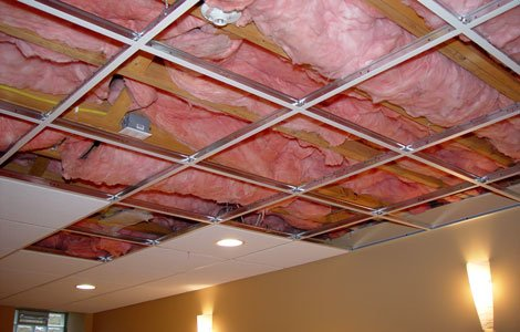 installing acoustic drop ceiling tiles installing a drop ceiling is