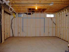 framing complete ready for drywall - Cost To Finish A Basement